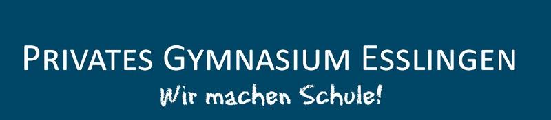 Privates Gymnasium Esslingen Logo